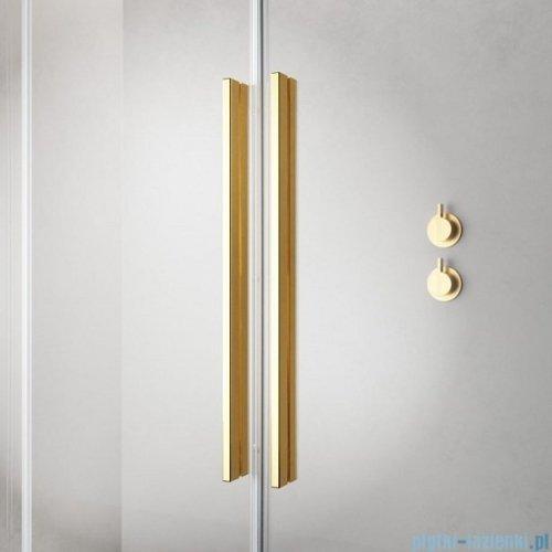 Radaway Furo Gold KDD kabina 80x120cm szkło przejrzyste 10105080-09-01L/10105120-09-01R