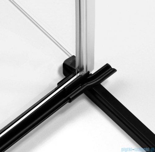 New Trendy Avexa Black kabina prostokątna 80x90x200 cm przejrzyste lewa EXK-1564