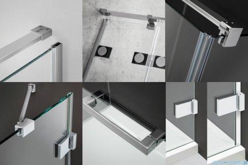 Radaway Euphoria KDD Kabina prysznicowa 80x80 szkło przejrzyste 383061-01L/383061-01R