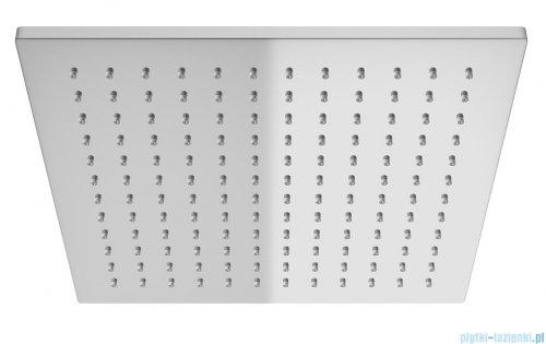Kohlman Excelent zestaw prysznicowy z baterią termostatyczną chrom deszczownica