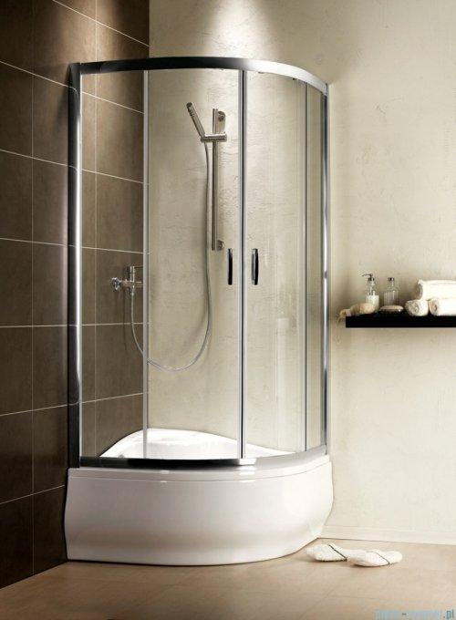 Radaway Premium Plus A Kabina półokrągła 90x90 wysokość 170cm szkło fabric