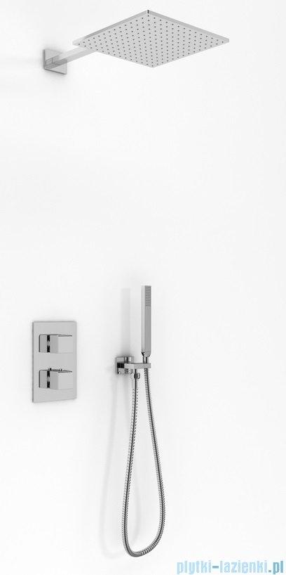 Kohlman Excelent zestaw prysznicowy z baterią termostatyczną chrom
