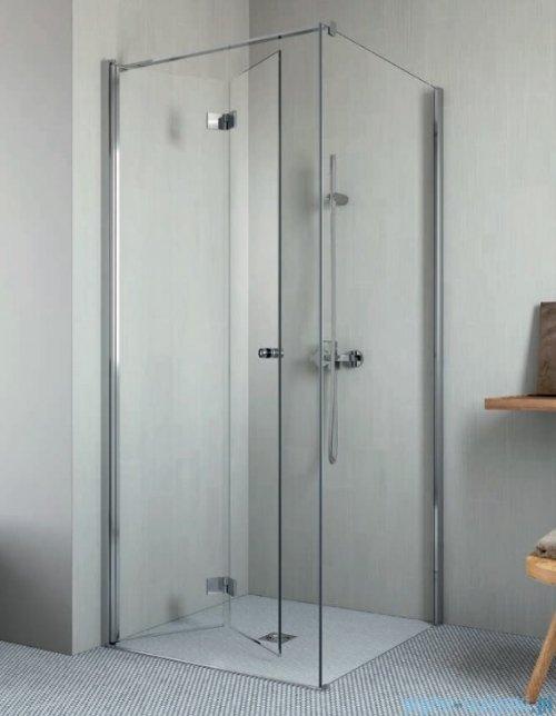 Radaway Essenza New Kdj-B drzwi 80cm lewe szkło przejrzyste 385081-01-01L