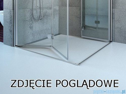 Radaway Fuenta New Kdj+S kabina 80x90x80cm prawa szkło przejrzyste 384020-01-01R/384051-01-01/384051-01-01