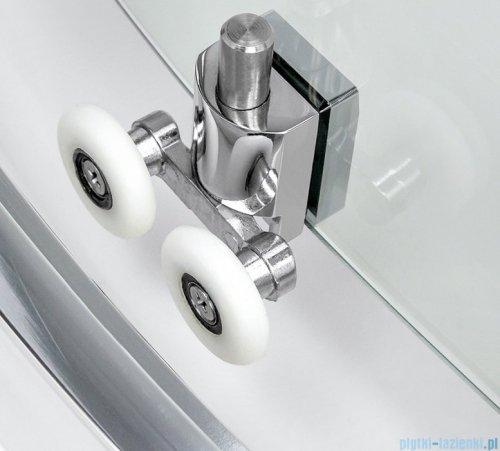 New Trendy New Varia kabina półokrągła 80x80x190 cm grafit K-0494