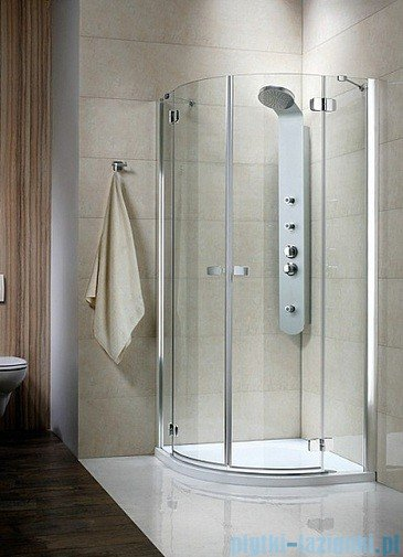 Radaway Fuenta PDD Kabina prysznicowa 100x100 szkło przejrzyste 381003-01N