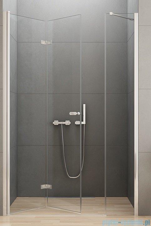 New Trendy New Soleo Plus drzwi wnękowe bifold 110x195 cm przejrzyste lewe D-0148A-D-0094B