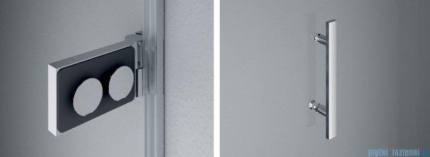 SanSwiss Pur PU31 Kabina prysznicowa 100x75cm prawa szkło przejrzyste PU31PD1001007/PUDT3P0751007