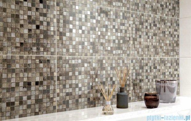Paradyż Luciola mocca mosaico inserto ścienne 20x60