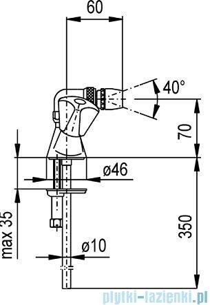 KFA STANDARD Bateria bidetowa 307-095-00
