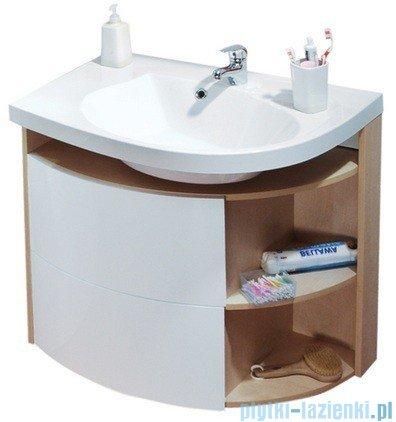 Ravak Szafka podumywalkowa Rosa Comfort Sdu 78x55 lewa biała/biała X000000328