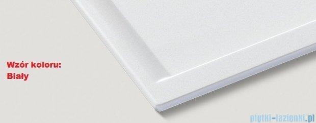 Blanco Zenar XL 6 S-F  Zlewozmywak Silgranit PuraDur komora lewa kolor: biały z kor. aut. i deską do krojenia z drewna jesionowego 519326