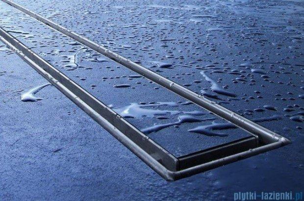 Tece Ruszt prosty Plate ze stali nierdzewnej Tecedrainline do wypełnienia płytkami 80 cm połysk 6.008.70