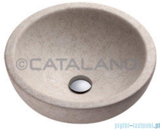 Catalano Sfera Travertino 45 umywalka nablatowa 45x45 beż 145ACTR