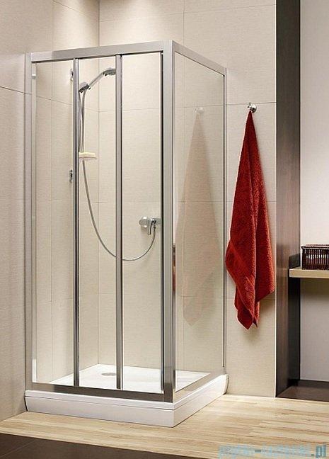 Radaway Treviso DW+S kabina 80x75 szkło przejrzyste 32313-01-01N/32433-01-01N