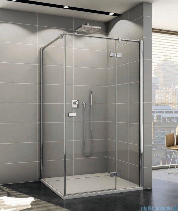 Sanswiss Melia ME13P Kabina prysznicowa prawa 140x120cm przejrzyste ME13PD1401007/MET1PG1201007