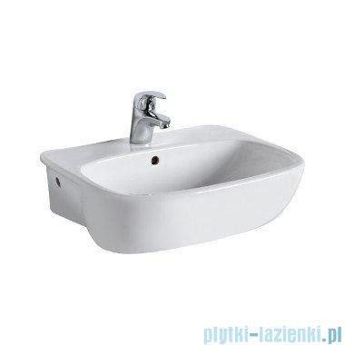 Koło Style umywalka półblatowa 55cm z otworem L21855