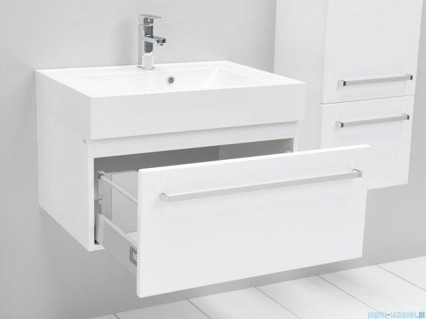 Antado Variete szafka z umywalką, wisząca 33,5x70x50 biały połysk FM-442/7 + UNA-700