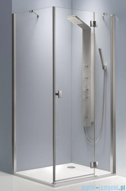 Radaway Essenza KDJ kabina 90x90 prawa szkło przejrzyste + brodzik Delos C + syfon 32802-01-01NR