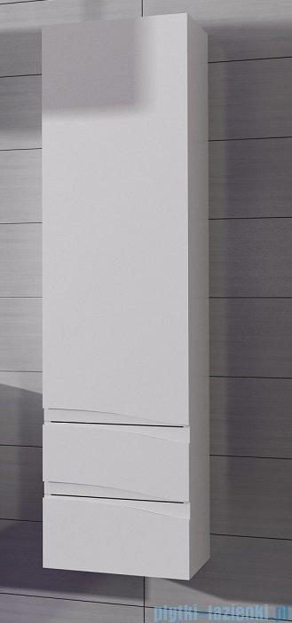 Antado Wave słupek z szufladami prawy 40x31,5x150cm szary mat VA-160/2R-U112