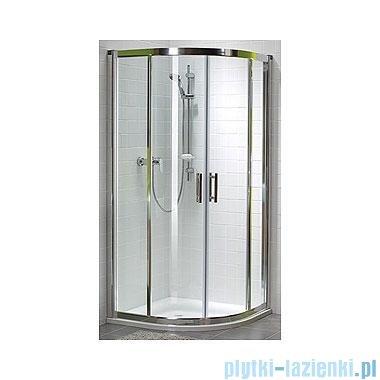 Koło Geo 6 Kabina prysznicowa półokrągła 90 z drzwiami rozsuwanymi GKPG90222003