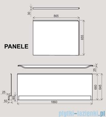 Ravak Panel czołowy do wanny You 175x85cm CZ021W0A00