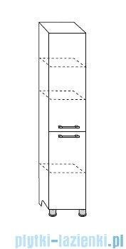 Antado Prima Słupek wysoki, stojący 40x31x180 biały połysk BFM-185