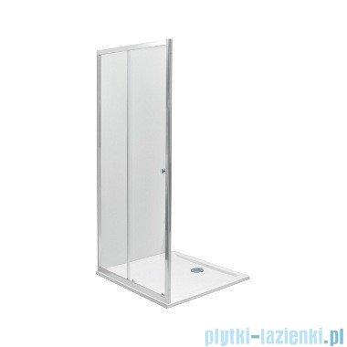 Koło First Drzwi rozsuwane 120cm 2-elementowe srebrny połysk ZDDS12214003