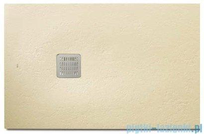 Roca Terran 100x80cm brodzik prostokątny konglomeratowy cream AP013E832001500