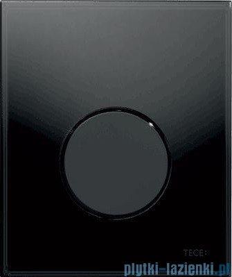 Tece Przycisk spłukujący ze szkła do pisuaru Teceloop szkło czarne, przycisk czarny 9.242.657
