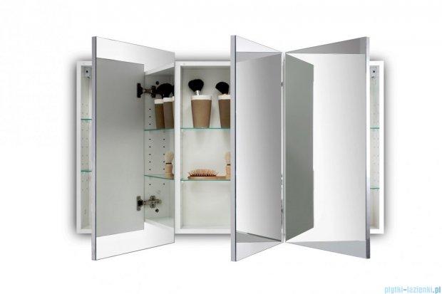 Antado Anta Szafka lustrzana 3-drzwiowa 130x15x70cm AN-130