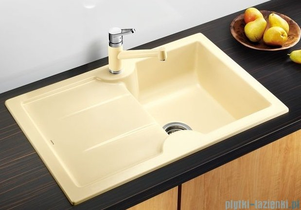 Blanco Idessa 45 S  Zlewozmywak ceramiczny prawy kolor: jaśmin bez kor. aut. 514492