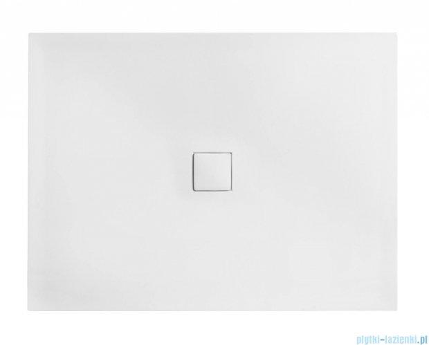 Besco Nox ultraslim white 110x90cm brodzik prostokątny biały/biały BMN110-90-BB