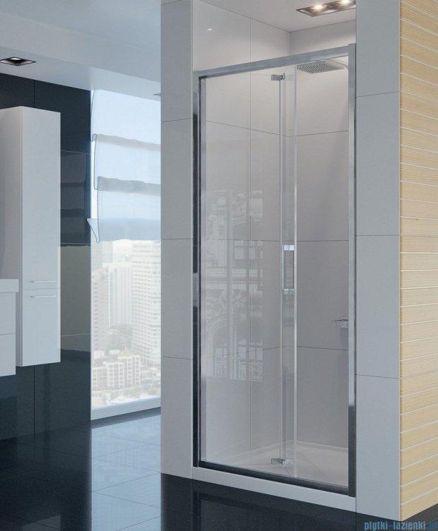 New Trendy Alta drzwi prysznicowe 80cm przejrzyste D-0087A