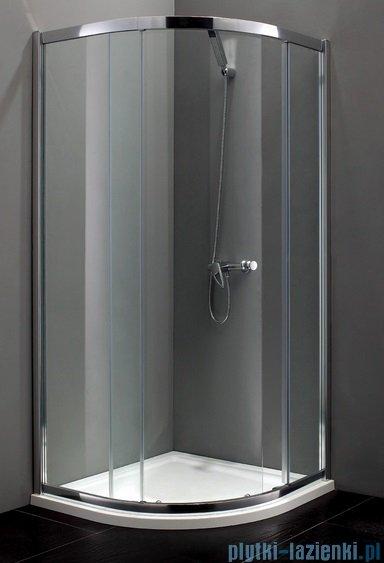 Atrium Treviso kabina półokrągła 80x80x190 cm szkło: przejrzyste FF0308