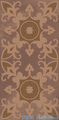 Paradyż Sabro brown geometryk inserto ścienne 29,5x59,5