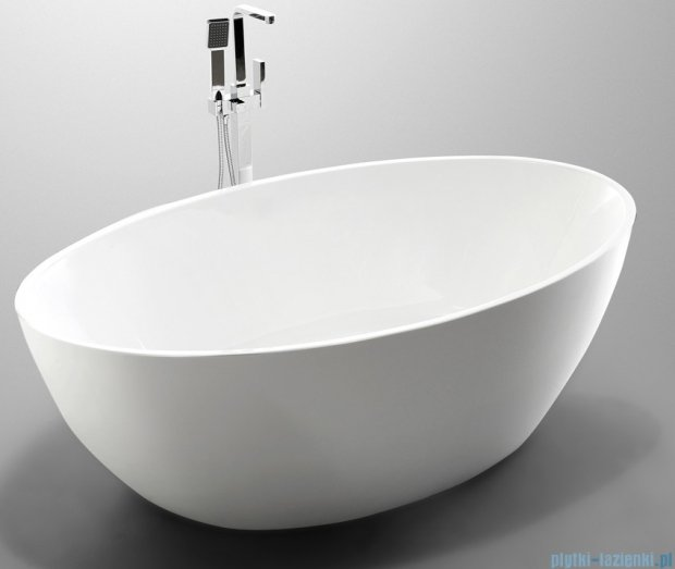 Massi Wide 175 wanna wolnostojąca 175x100 cm biała MSWA-6834