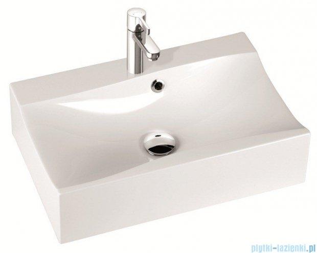 Marmorin umywalka nablatowa Iva 60cm z otworem biała 220060022011