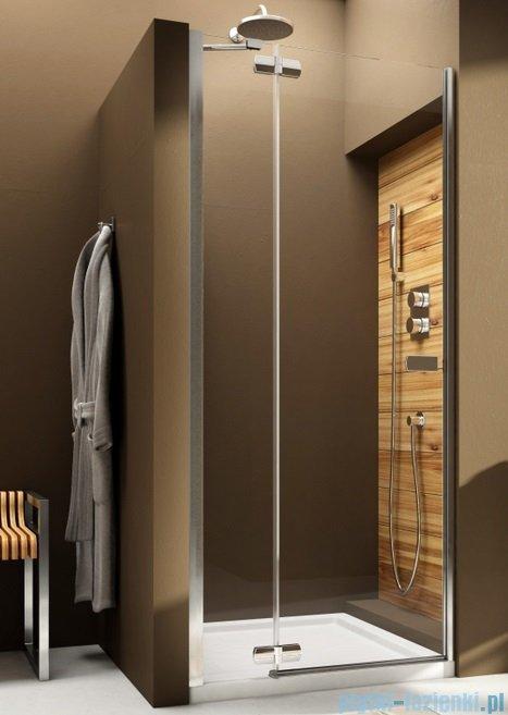 Aquaform Verra Line drzwi uchylne do wnęki lewe 90cm przejrzyste 103-09401