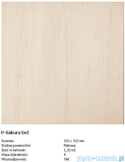 Domino P-Sakura beż 33,3x33,3