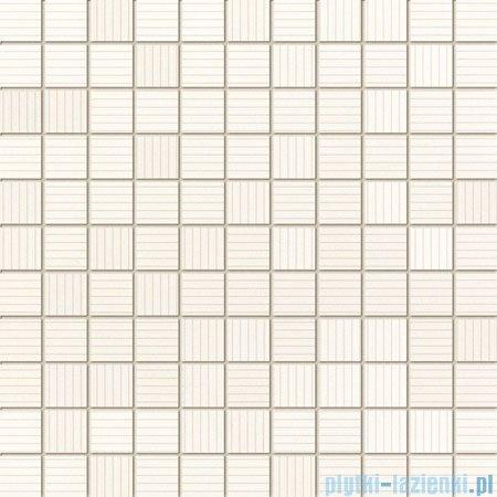 Domino Indigo biały mozaika ścienna 30x30