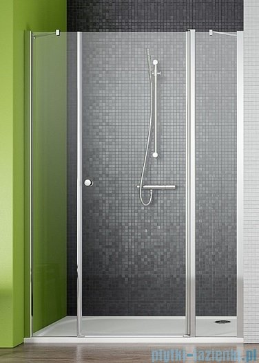 Radaway Eos II DWJS Drzwi prysznicowe 120x195 prawe szkło przejrzyste 3799454-01R