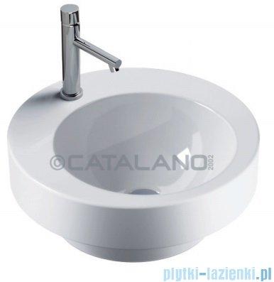 Catalano Lavabo d'arredo 45/2 umywalka wpuszczana w blat 45x45 cm biała 145AZ00