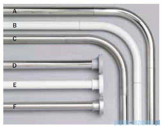 Sealskin Drążek prysznicowy Rod 3 Silver 155-255 cm aluminium chrom 275550418