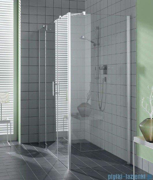 Kermi Filia Xp Ściana boczna, szkło przezroczyste, profile srebrne 100x200cm FXUWD10020VAK