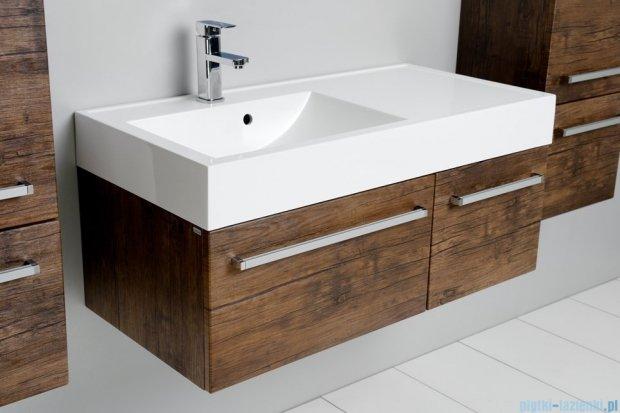 Antado Spektra szafka z umywalką, wisząca 100 stare drewno FDF-442/6GT-50 + FDF-442/4GT-50 + UNAM-1004L