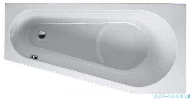 Riho Delta wanna asymetryczna lewa 160x80 z hydromasażem LUX Hydro 4+4+2/Aero11 BB83L8