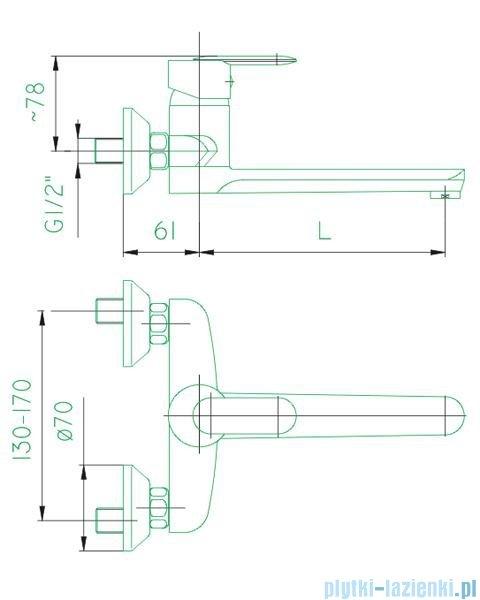 KFA Cyrkon bateria umywalkowo-zlewozmywakowa, kolor decorum 580-830-00