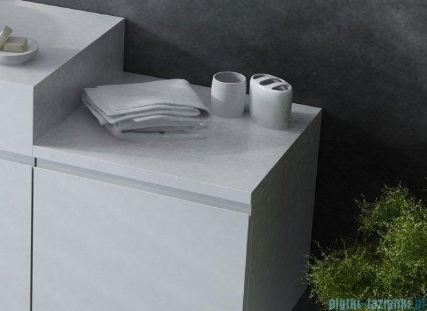 Antado Combi szafka dolna prawa 45x45x40 biała/jasne drewno ALT-141/45-R-WS/dn