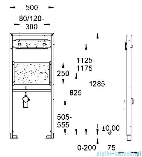 Grohe Rapid SL do baterii ściennej 38544000